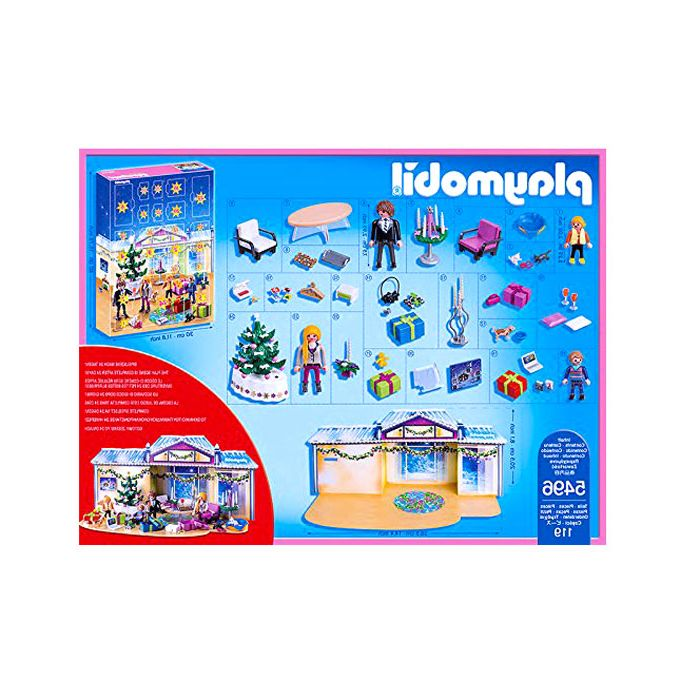 Test calendrier avent playmobil