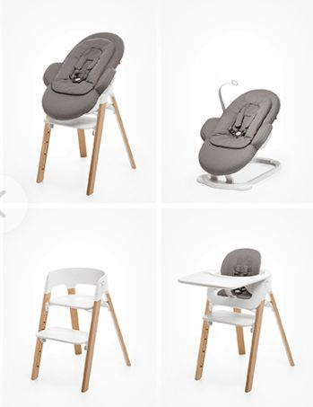 Test chaise haute stokke steps