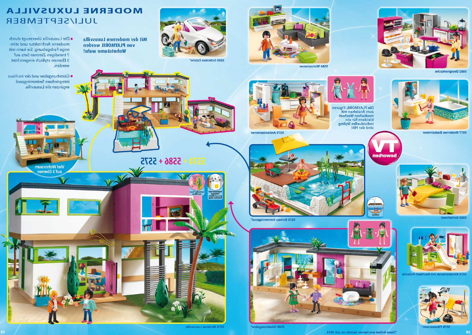 Comparatif maison playmobil transportable
