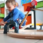 Test circuit en bois train