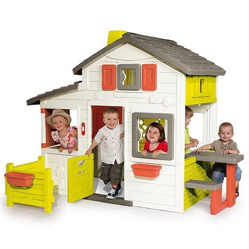 Test cabane smoby friends house