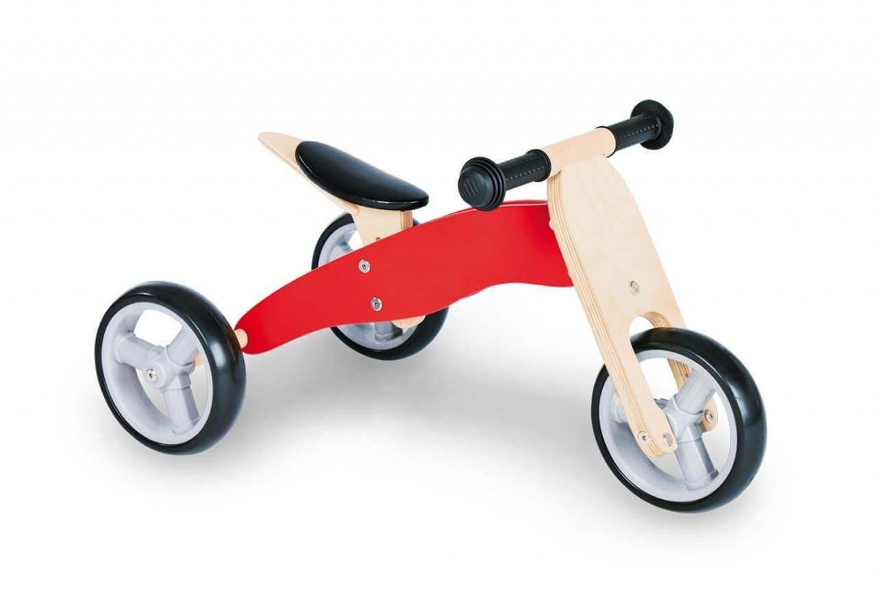 Test tricycle draisienne