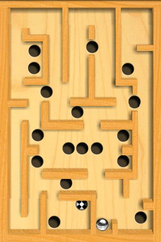Test jeu labyrinthe bille