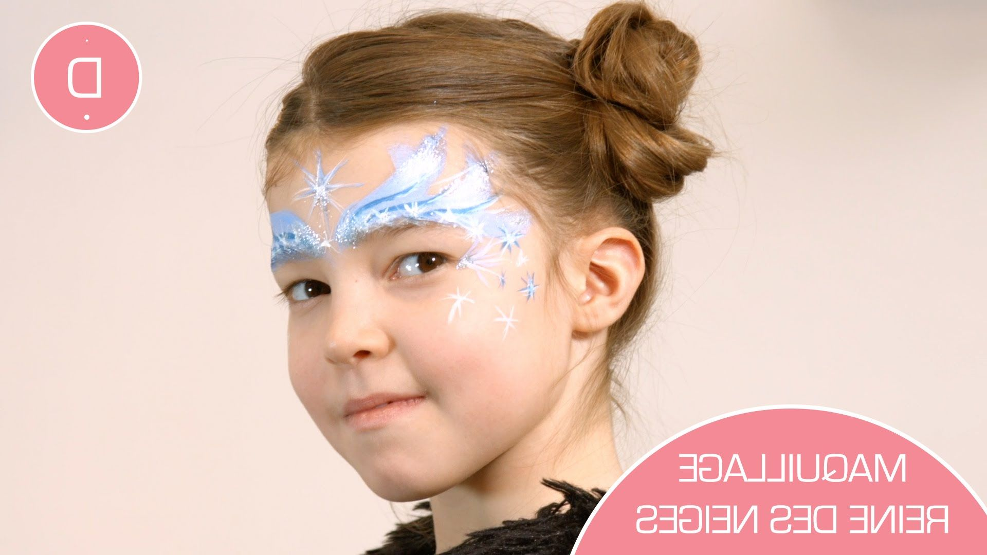 Comparatif maquillage visage enfant
