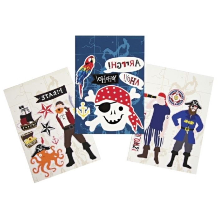 Comparatif stickers muraux pirates