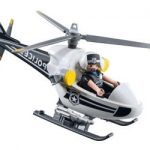 Comparatif helicoptere police playmobil